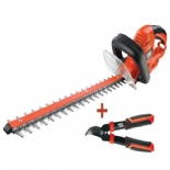 GT6030KIT BLACK&DECKER 650 W ELEKTRİKLİ ÇİT BUDAMA VE KESME MAKİNASI